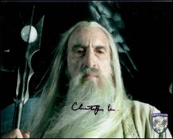 Christopher Lee Autographs from Official Pix