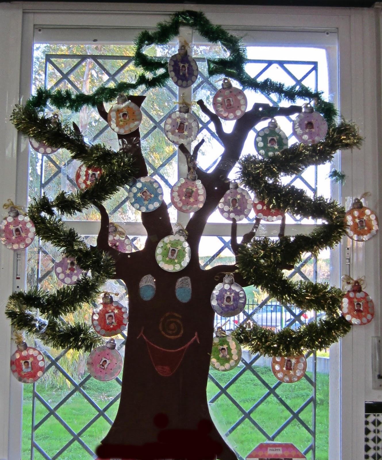 Nuestro rbol de navidad pinceladas - Arbol de navidad sencillo ...
