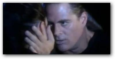 beso entre Eleonora Wexler y Mike Amigorena