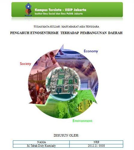 Lare Kapiran Pengaruh Etnosentrisme Terhadap Pembangunan Daerah