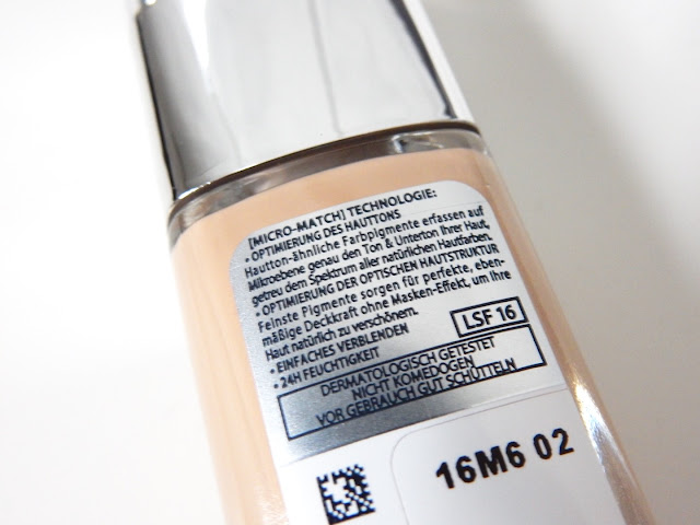 L'Oréal Perfect Match Foundation Anleitung