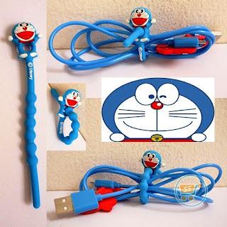 Gambar Pengikat Kabel Doraemon