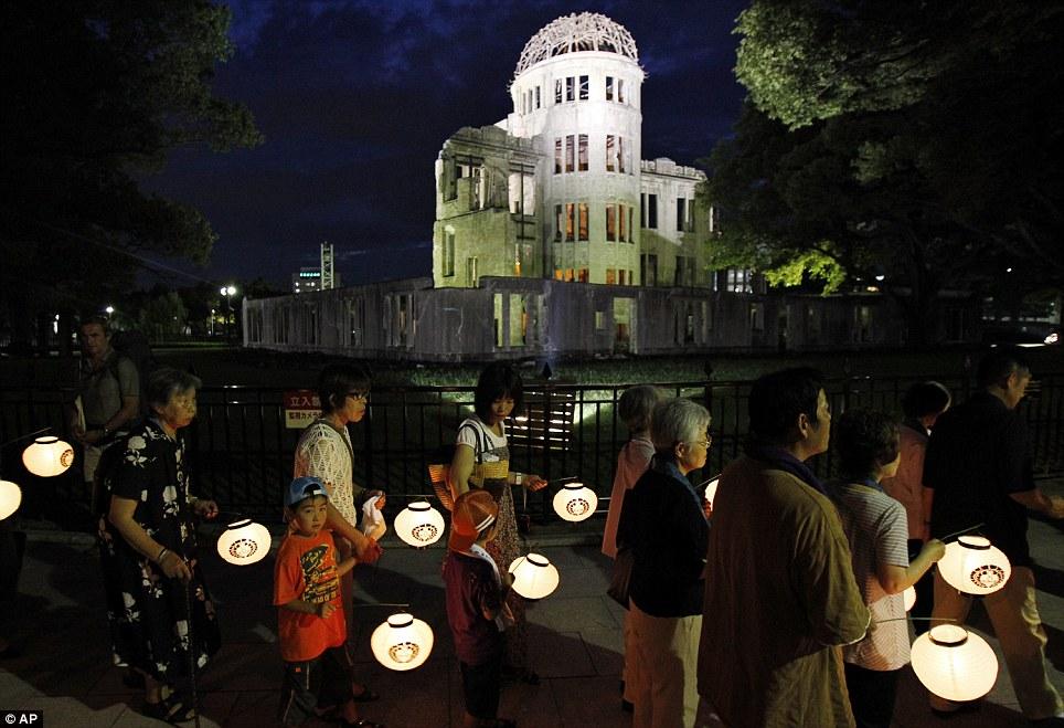 Sambutan Ulangtahun ke 66 bom atom Hiroshima dan Nagasaki