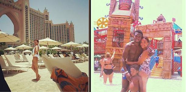 Check Out Adaeze, Joseph Yobo's Dubai Vacation Pictures | Nigerian: Breaking News In Nigeria ...