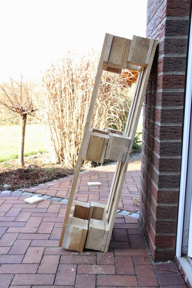 Wohnwand selber bauen paletten  Scheerereien - Basteln, nähen, werkeln und mehr: Wohnwand aus ...