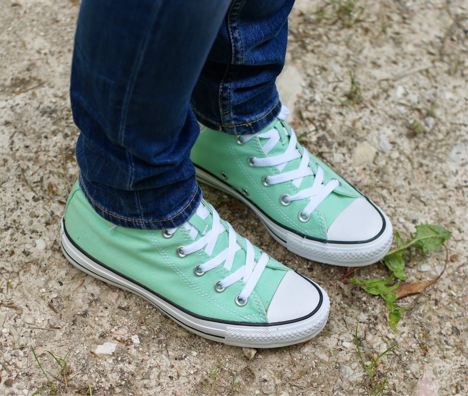 Mint converse shoes, Fashion and Cookies, fashion blogger