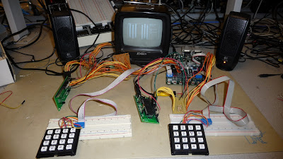 Battle Tanks using ATMega 644 microcontroller