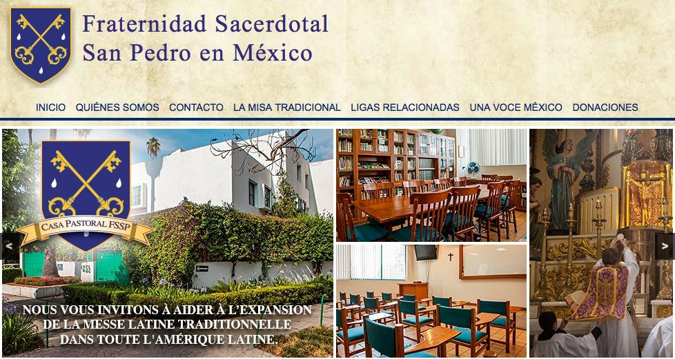 La FSSP au Mexique
