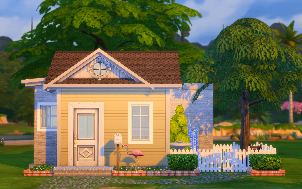 My Sims 4 Blog Tiny House Big Heart By Madmono