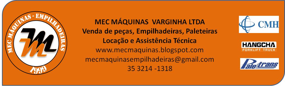 MEC MÁQUINAS VARGINHA - EMPILHADEIRAS