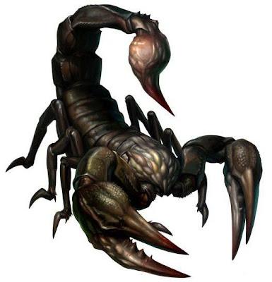 Escorpión o alacrán robot