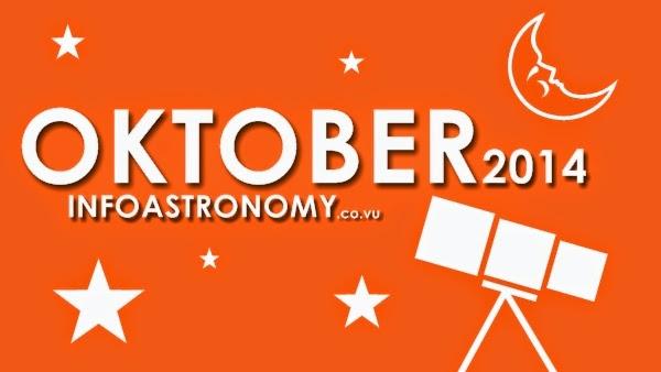 Wajib Lihat! Inilah Daftar Peristiwa Astronomi Oktober 2014