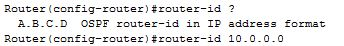 router-id ospf