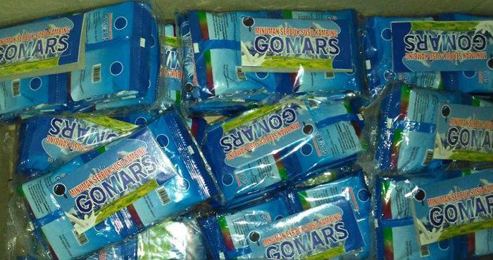 Susu Kambing Gomars Sachet Kemasan Terbaru