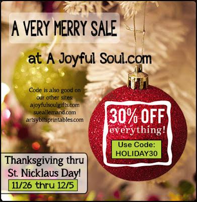 Very Merry Xmas Sale - A Joyful Soul - Inspirational Art, Jewelry & Gifts