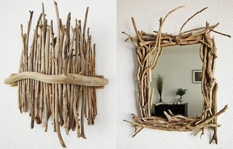 D co fait main le land art s 39 invite dans une d co nature - Idees deco fait main ...