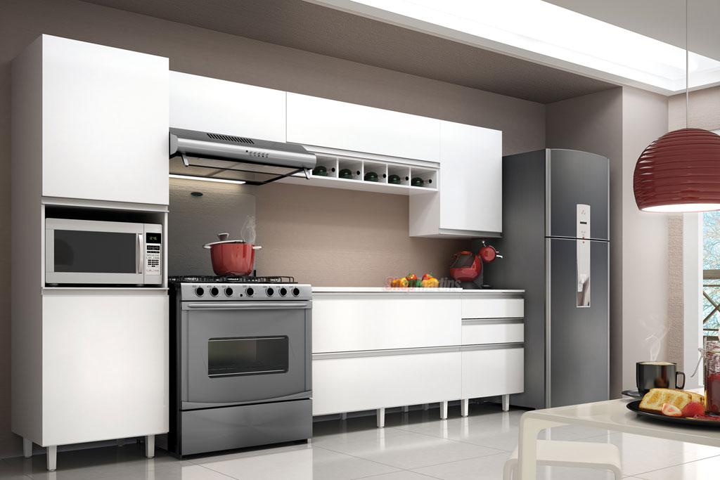 EXPRESS MÓVEIS COZINHA COMPACTA  KIT COZINHA  COZINHA MODULADA # Cozinha Compacta Victoria Fiasini