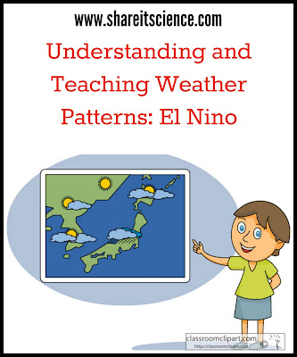 weather patterns teaching el nino www.shareitscience.com