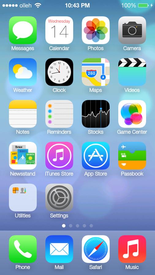 iLauncher 3.1.4 untuk Android