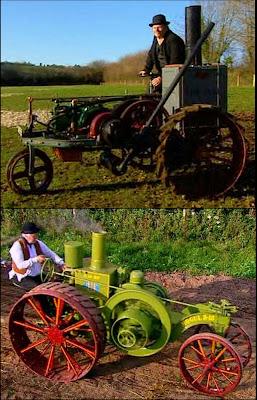 Edwardian Petrol Tractors