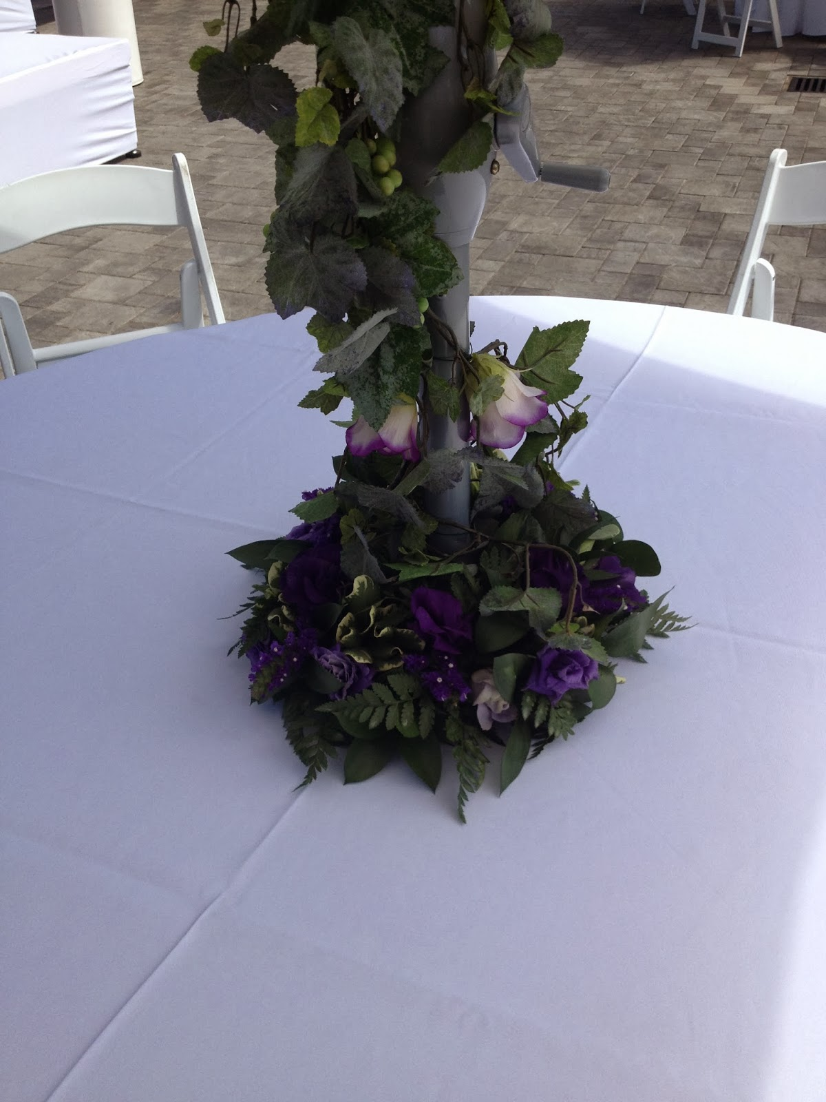 Outdoor Patio Wedding Decor Ttm Events Kelowna