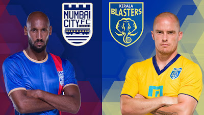 Kerala Blasters Vs Mumbai City FC 10/10/15 Match 8 Live Streaming