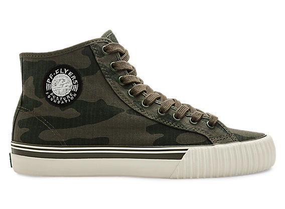 PF Flyers Sneakers Center Hi camo