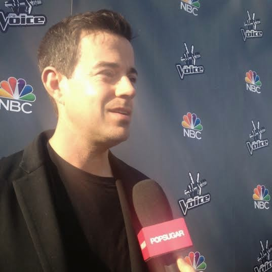 Carson Daly on The Voice Red Carpet