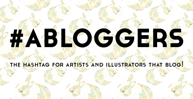 image for abloggers hashtag the hashtag for artists and illustrators that blog