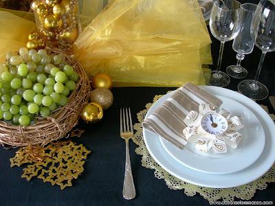 Decoracion de mesas diciembre 2011 - Decoracion mesa nochevieja ...