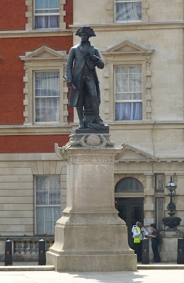 Statue of Captain James Cook, The Mall, London