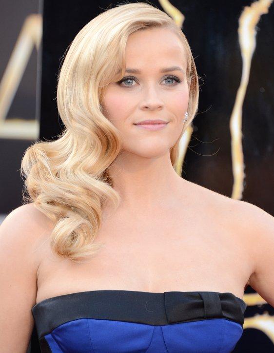 Reese Witherspoon Dark Hair 2013