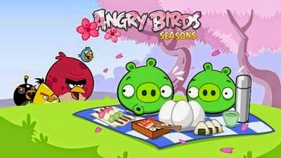 download Angry Birds Seasons: Cherry Blossom Festival
