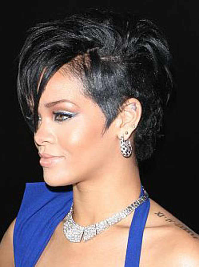 Best Tatto Design: Rihanna s roman numeral tattoo 02