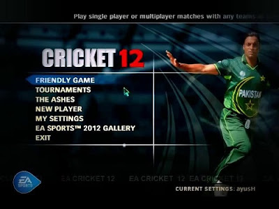 EA Cricket 2012 Full  PC Game Free Download