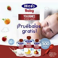 hero b aby yogurines muestras