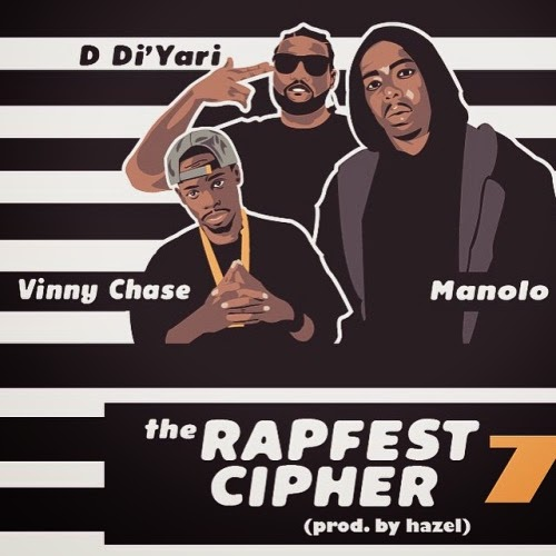 The Rapfest: Series 7 ft. Vinny Chase, Manolo Rose & D. DiYari {Prod. By Hazel} @MTMovieStar / www.hiphopondeck.com
