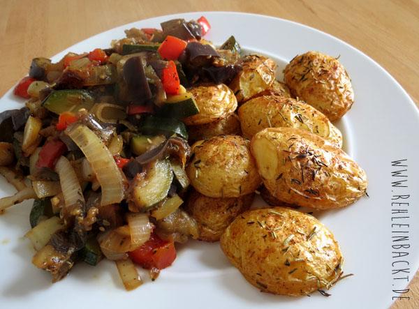Thema Ernährung. Meine Ernährungsumstellung. Gesunde Ernährung. Mittagessen. Gemüse mit Ofenkartoffeln.| Foodblog rehlein backt