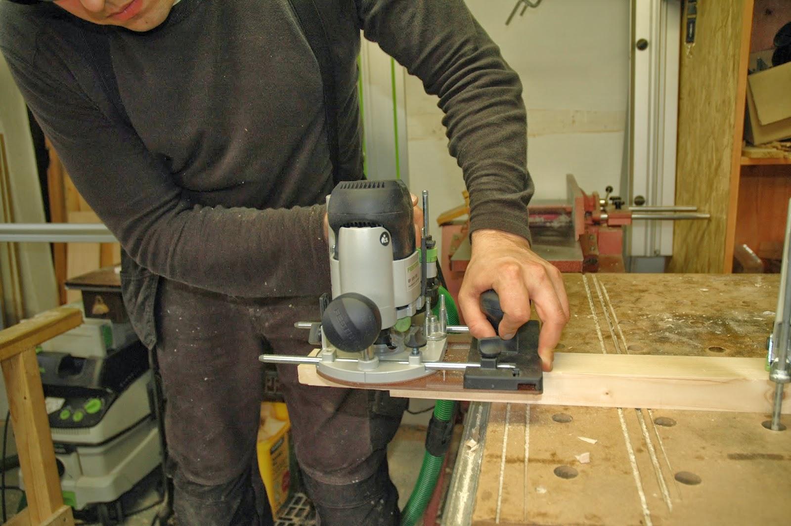 holzprojekte: Holzregal für den Schuppen Teil 1