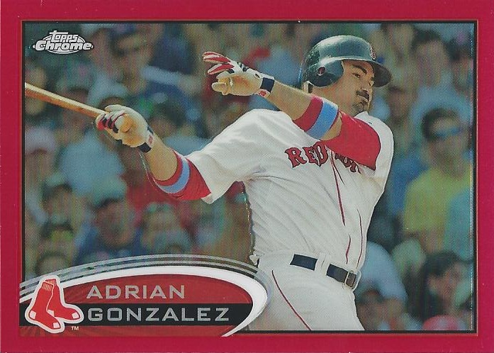 19edac5c9 Shoebox Legends  Adrian Gonzalez
