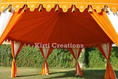 Exotic Garden Tent