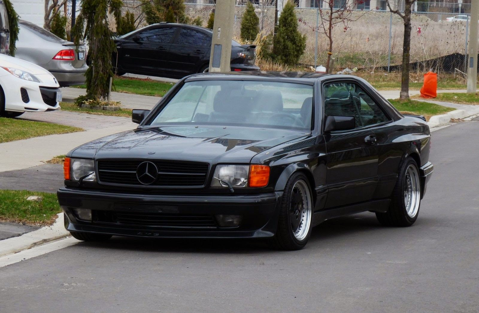 1990 Mercedes Benz 560SEC AMG 60 Widebody For Sale In TorontoCanada
