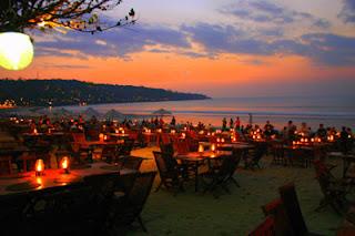 holiday in Jimbaran, Jimbaran bay, sunset in Jimbaran