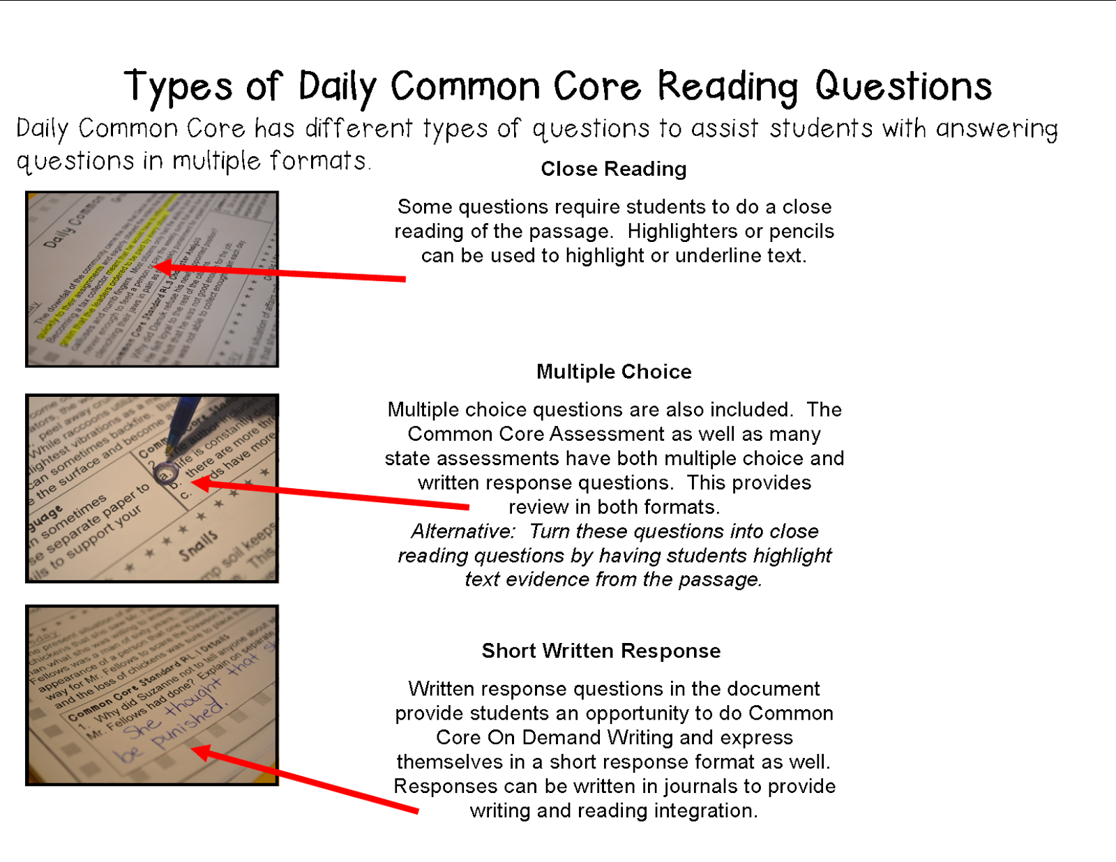 Worksheet Reading For Grade 5 literacy math ideas a full school year of daily common core this document contains relevant informational text topics that are commonly taught in fifth grade to make social studies and scie