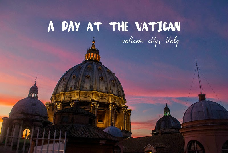 Spending a day in the vatican city