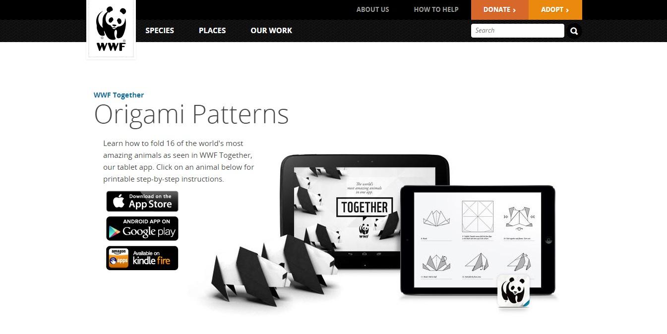 WWF Origami Campaign
