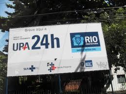 Brasil: As UPAs do governo do estado do Rio de Janeiro, na capital, fracassaram!