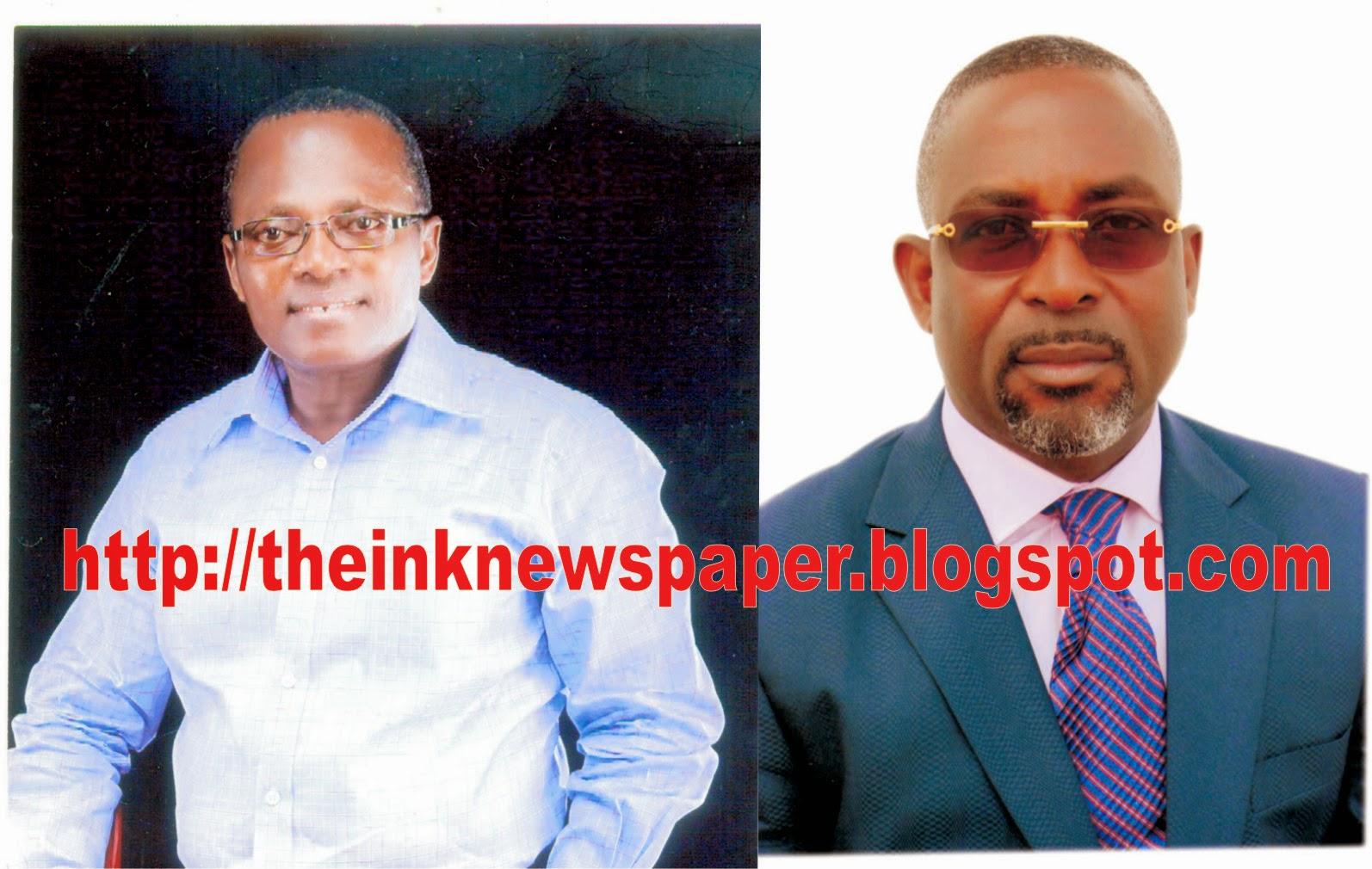 Commissioner Ekpuk Udom felicitates Barr. Enoidem on his birthday