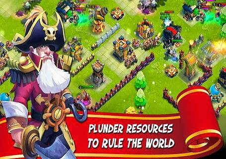 صور لعبة الاستراتيجيه Castle Clash للاندرويد