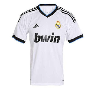 Kostum Real Madrid Terbaru 2013
